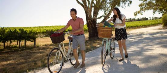 McLaren Vale, Australia: Cycling through Chapel Hill Winery