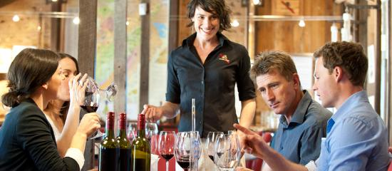 McLaren Vale, Australien: The Blending Bench experience at d'Arenberg Winery