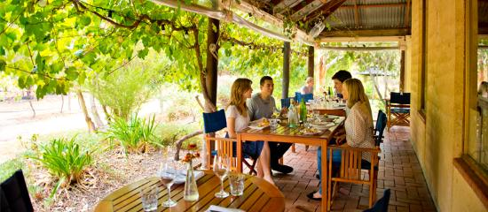 McLaren Vale, Australien: Dining at Red Poles