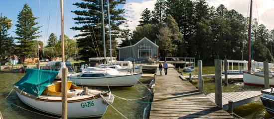 Victor Harbor, Australia: Birks Harbour Boathouse, Goolwa
