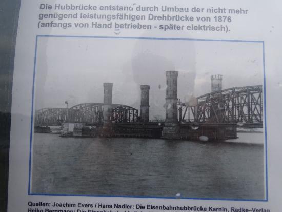 Usedom, Hubbrücke Karnin