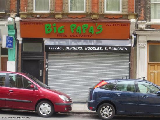 Hertfordshire, UK: Big Papas