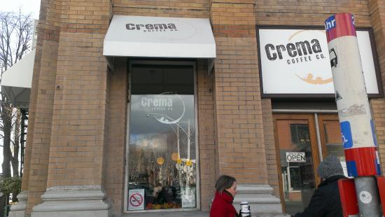 Photo of Cafe Crema Coffee Co. at 3079 Dundas St W, Toronto M6P 1Z9, Canada