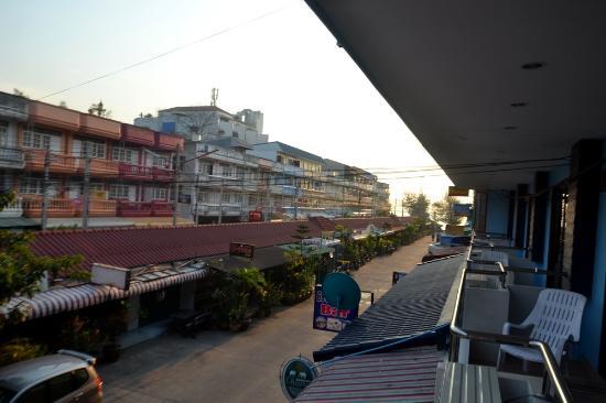 Cha Am My House: Вид с балкона номера