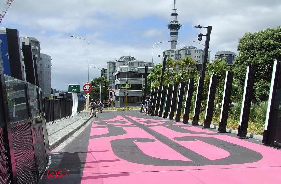 Nelson Street Cycleway