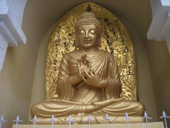 lord buddha ダージリン japanese peace pagodaの写真 トリップ