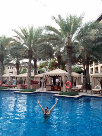 The Palace Downtown Dubai: picture in the pool