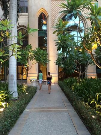 Palace Downtown : garden