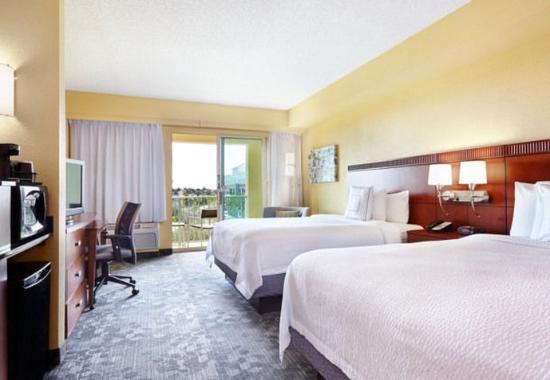 Courtyard Fort Lauderdale SW/Miramar: Queen/Queen Guest Room With Balcony
