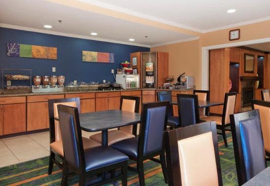 Jackson, MS: Breakfast Dining Area