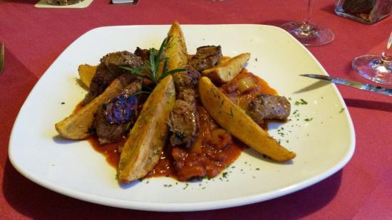 Porto Bello Restaurant: Teufelsfleisch - unglaublich lecker