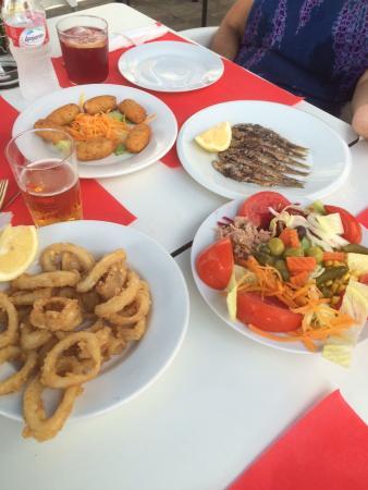 Casa Juan : Entrantes del menú