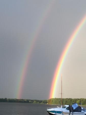 Fehrbellin Wustrau-Altfriesack, Tyskland: Regenbogen