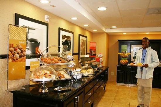 Banning, Kalifornia: Breakfast Serving Area