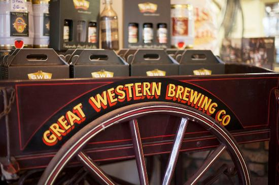Great Western Tire >> Great Western Brewery Cart Picture Of Great Western