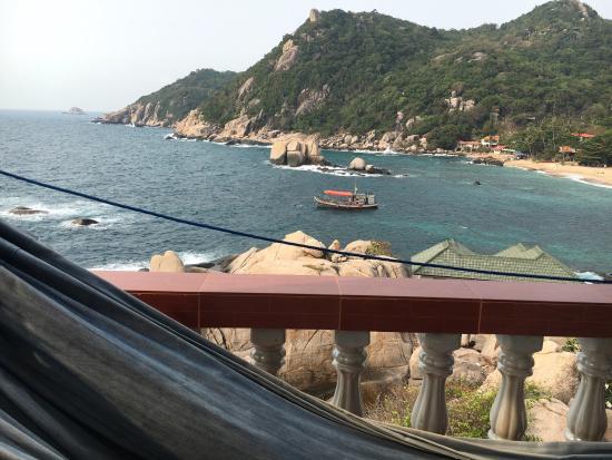 Family Tanote Bay Resort: Zimmer 24, ein Traum!!! Die Aussicht ist der absolute Knaller! Man kann aus drei Fenstern in dre