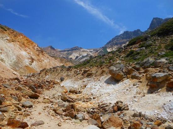 Mt.Tokachi: 凄い迫力