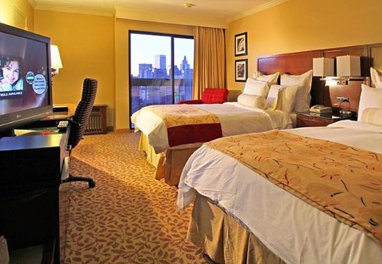 Providence Marriott Downtown: Concierge Level Double/Double Guest Room