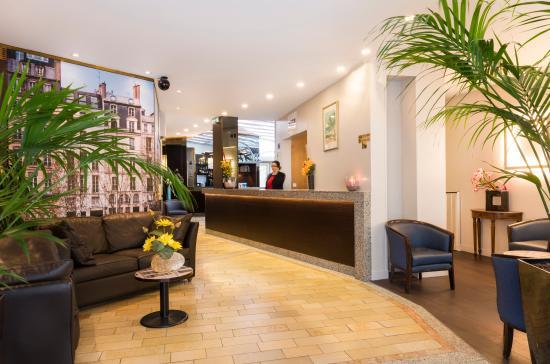 Quality Hotel Abaca Messidor Paris : reception