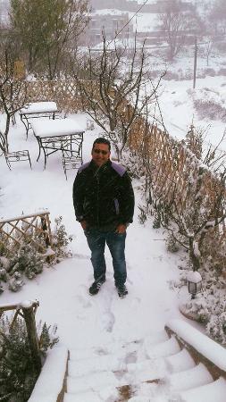 Riad Imlil Lodge : Le jardin