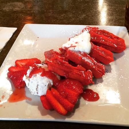 LuLu's: Red Velvet Waffles