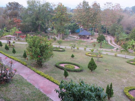 Ban Rai Tin Thai Ngarm Eco Lodge: วิวจากห้องพัก