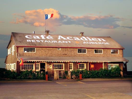 Bonaventure, Canadá: Le Café Acadien vous attend
