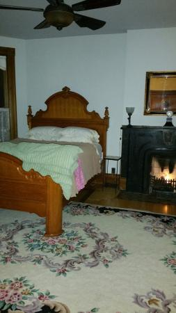 Chelsea House Victorian Inn : View from the lovely sitting area! Perfect Fireside chats!