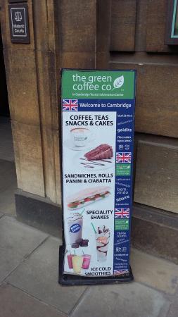 The Green Coffee Company: WELCOME