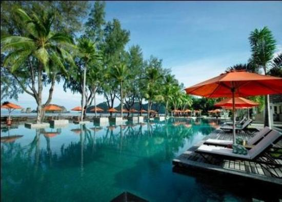 Tanjung Rhu Resort: Pool View