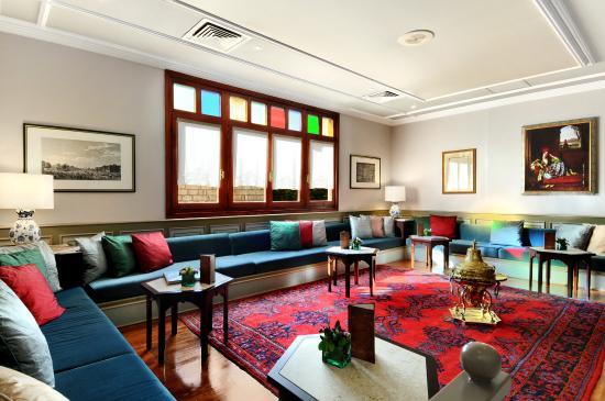 Armada Istanbul Old City Hotel: Lobby (Oriental Corner)