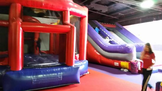 Can't Get Enough Indoor Bouncing?