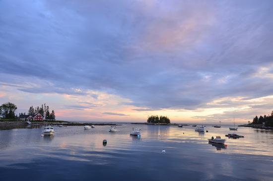 Newagen, ME: View from Dock