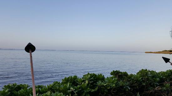 Kaunakakai, Χαβάη: further view from dining/bar