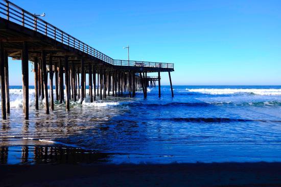 wooden pier pismo beach picture of cottage inn by the sea pismo rh tripadvisor com