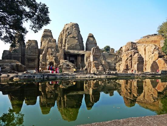 Masroor Rock Cut Temple