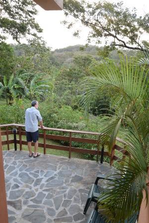 Tenorio Lodge: Our patio