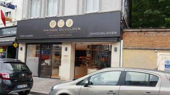 fond du magasin photo de patisserie gilles devulder saint andre lez lille tripadvisor. Black Bedroom Furniture Sets. Home Design Ideas