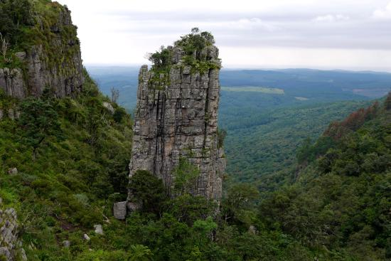 Blyde River Canyon. The Pinnacle Rock. - Picture of Blyde ...