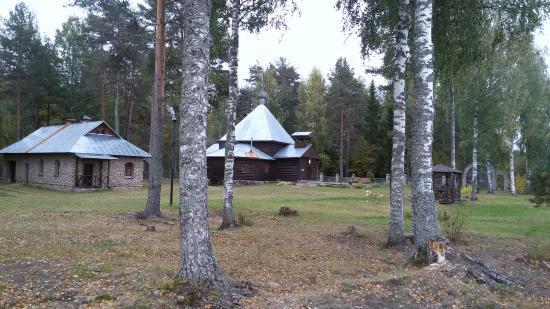 Akulova Gora, Russia: Никольский скит на Ояти