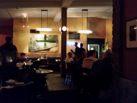 Kingfisher Bar And Grill Main Restaurant Looking Towards Kitchen Door
