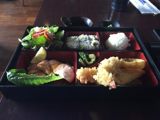 Happy Roll: Great lunch place in downtown Concord. Food and service always great. The California Rolls are a