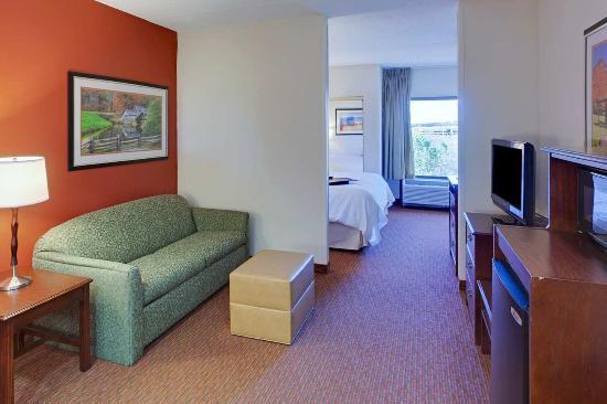 Hampton Inn Waynesboro / Stuarts Draft: King Guest Suite
