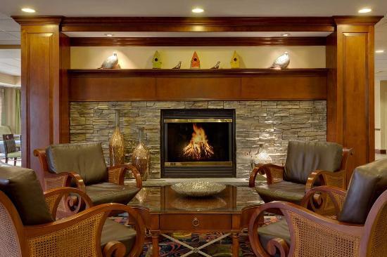Hampton Inn Waynesboro / Stuarts Draft: Lobby Fireplace