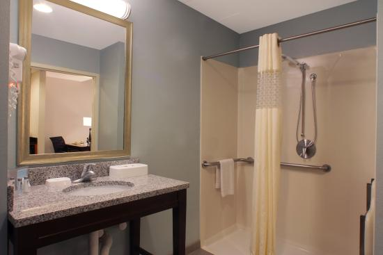 Port Saint Lucie, FL: Handicap Accessible Bathroom with Roll-In Shower