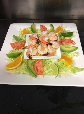 นิวแอล์ม, มินนิโซตา: Seafood dishes available