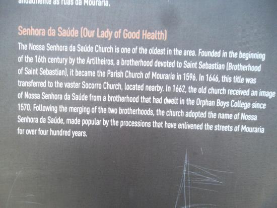 Nossa Senhora Da Saude: Capela De Nossa Senhora Da Saúde