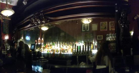 beautiful hand carved bar back picture of ohio club hot springs rh tripadvisor in