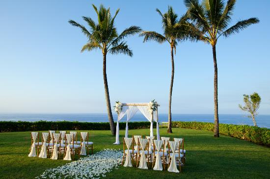 Westin Princeville Ocean Resort Villas: Weddings