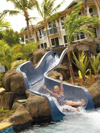 The Westin Princeville Ocean Resort Villas: Waterslide